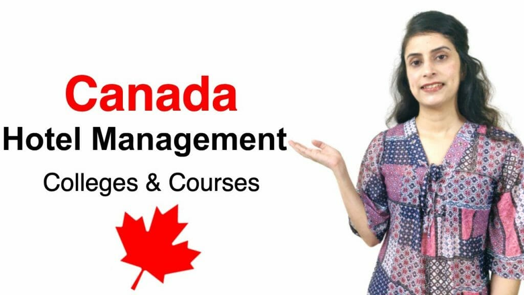Hotel Management course in Canada