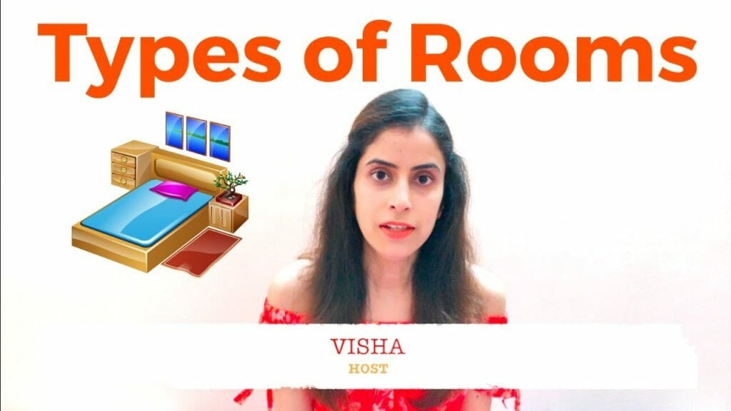 Types of rooms in the hotel Industry