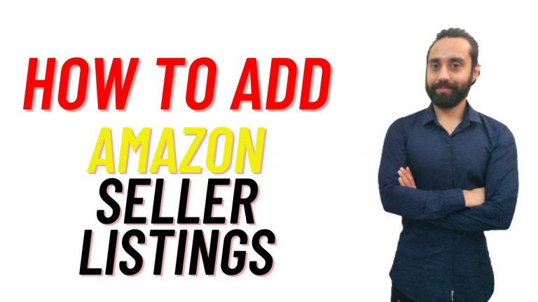 How to add products on Amazon