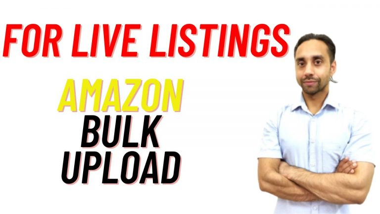 Listing Loader to Bulk upload listed products on Amazon