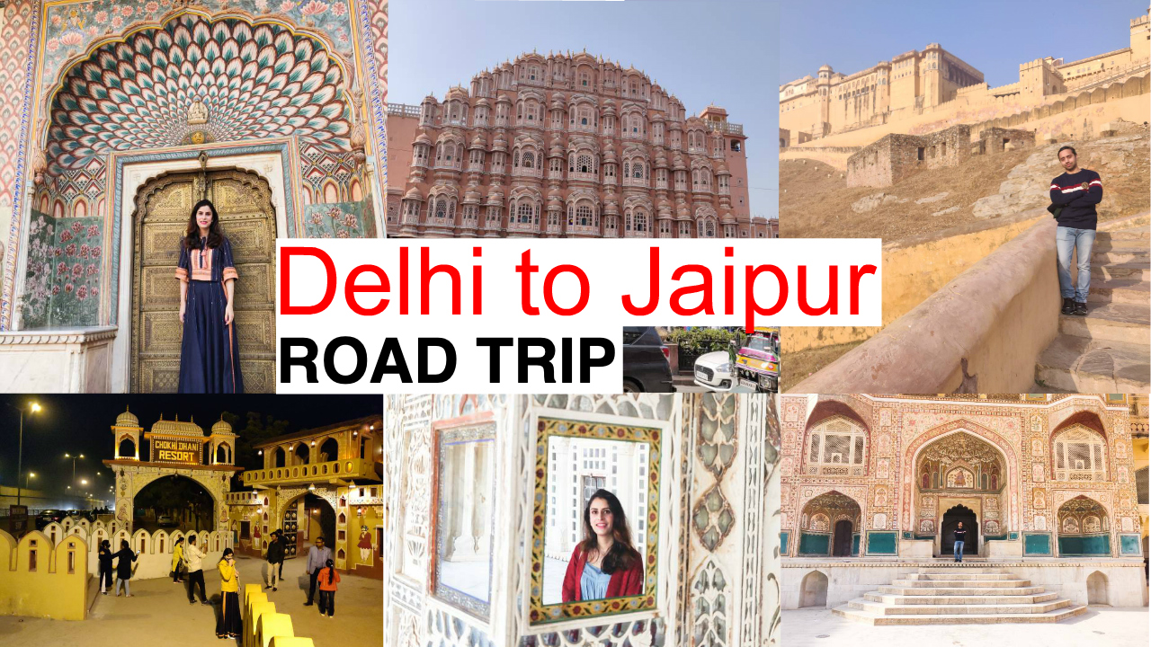 From Delhi to Jaipur by car 5 Best places to visit in Jaipur photos