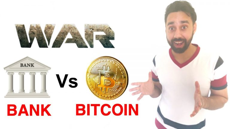 Bank vs bitcoin in India Who will win the War